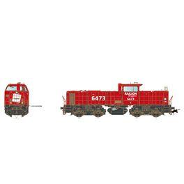 ABB MaK Railion DB Logistics 6473 DC digital  sound