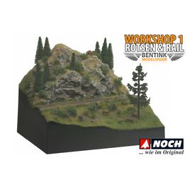 Workshop 1: NOCH Rotsen & Rail diorama
