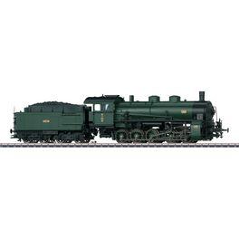 Güterzug-Dampflok G5/5 K.Bay.