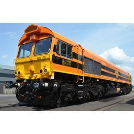 Class 66, RRF, Loksound, Rookgenerator, DC/AC