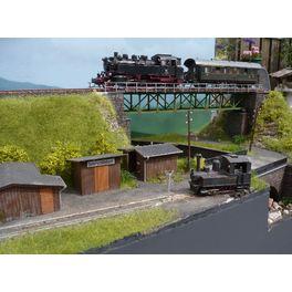 Workshop 18: Smalspoor, spoorbrug, water & weg