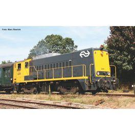 NL2019, AC,  Diesellok/Sound Rh 2200 NS gelb-grau IV + PluX2