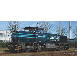 AC, Diesellok G1206 Lineas NL VI + 8pol. Dec.