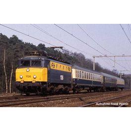 NL2020, E-Lok/Sound Rh 1100 NS gelb-grau IV + PluX22 Dec.