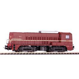 NL2020, Diesellok Rh 2200 NS rotbraun III + DSS PluX22