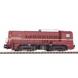 NL2020, ~Diesellok/Sound Rh 2200 NS rotbraun III + PluX22