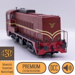 VSM 2233, DCC, Loksound - Premium Custom Weathering