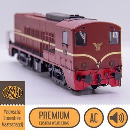 VSM 2299, AC, Loksound - Premium Custom Weathering