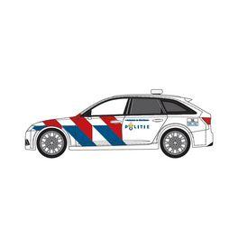 Audi A6 Avant Politie, nieuwe striping (NL)