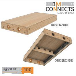 Gesloten module, 100x50 cm, inclusief beslag