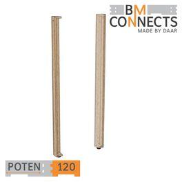 Potenset 120cm, 2 stuks