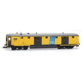 NS 511-0, geel, Dick, NS-logo, depot Zwolle, V