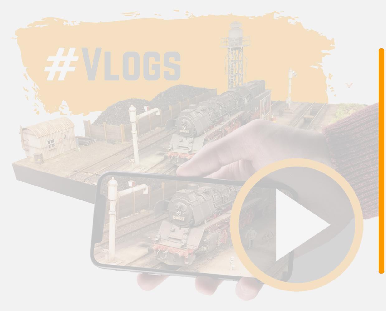 Vlogs - In ontwikkeling